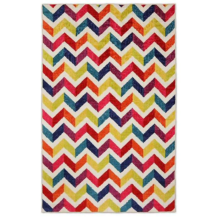 Alternate image 1 for Mohawk Chevrons Prism Area Rug