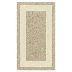 Classic Border 1'8 x 2'10 Accent Rug in Cream