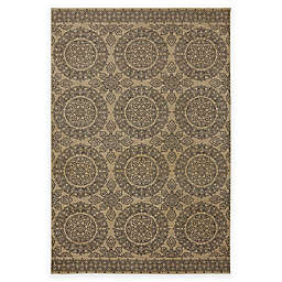 Karastan Pacifica Leawood Rug in Tan
