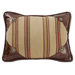 HiEnd Accents Ruidoso Striped Oblong Throw Pillow
