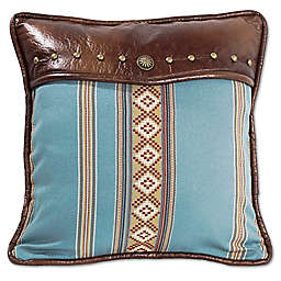 HiEnd Accents Ruidoso Striped Square Throw Pillow
