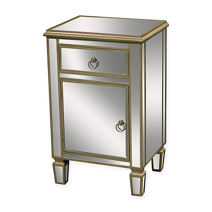 Alternate image 1 for Sterling Industries Broadway Chest in Silver/Gold