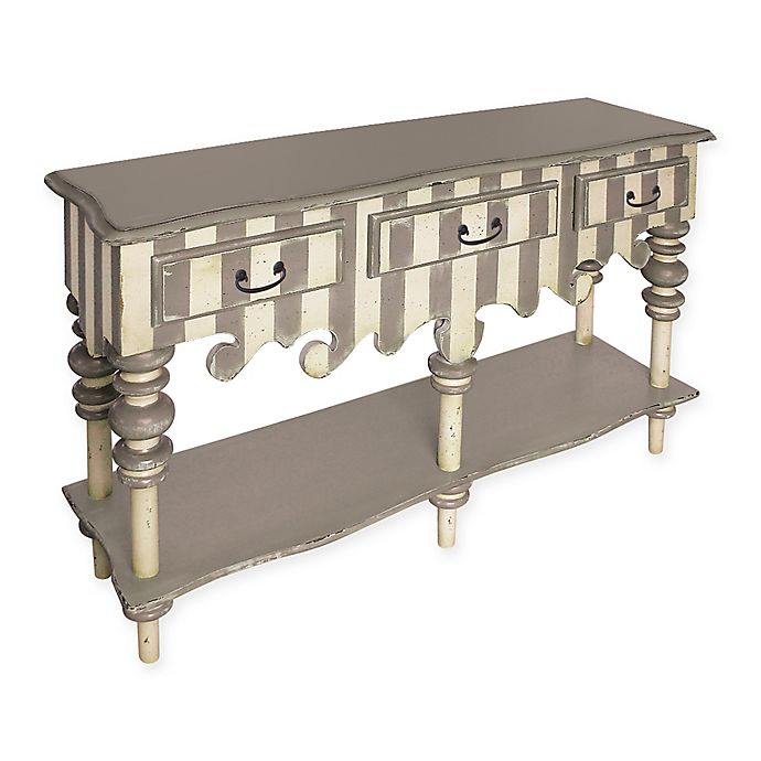 Alternate image 1 for Sterling Industries Rococo Server in Grey/Cream