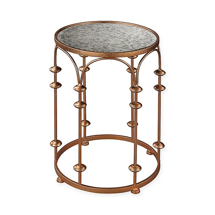 Alternate image 1 for Sterling Industries Copper Arch Accent Drum Table