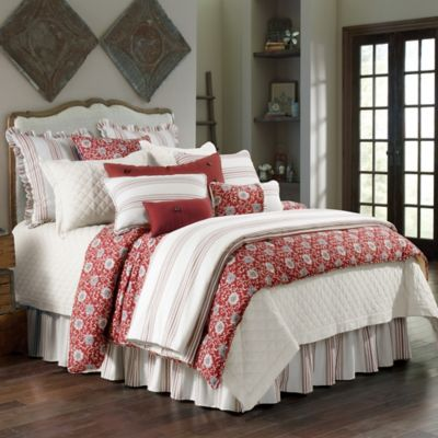 Hiend Accents Bandera Comforter Set In Red Bed Bath Amp Beyond