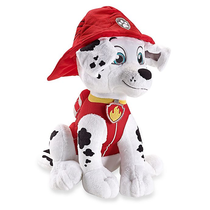 Alternate image 1 for PAW Patrol™ Marshall Throw Pillow in Red/White