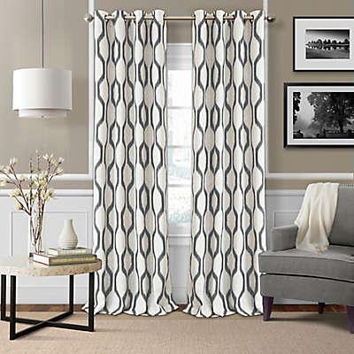 Elrene  Renzo Room-Darkening Grommet Top Window Curtain Panel