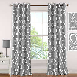 Elrene Emery Room-Darkening Grommet Top Window Curtain Panel