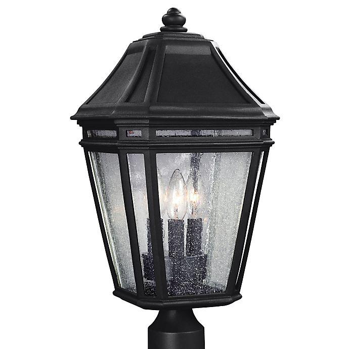 Alternate image 1 for Feiss® Londontowne 3-Light Outdoor 19-1/2-Inch Post Light in Black