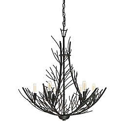 Quoizel Thornhill 6-Light Mini Chandelier in Marcado Black