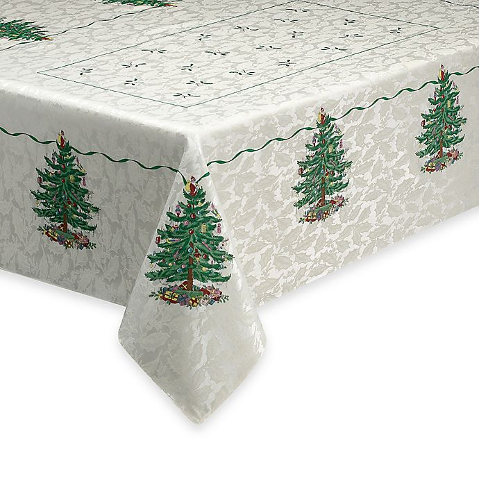 Spode 174 Christmas Tree Tablecloth Bed Bath And Beyond Canada