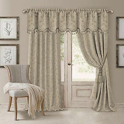 Elrene Mia Room-Darkening Window Curtain Panel and Valance