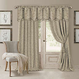 Elrene Mia Room-Darkening Window Curtain Panel and Valance