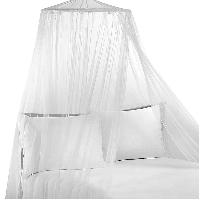 Alternate image 1 for Siam White Bed Canopy