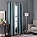 Bianca 84-Inch Grommet Top Window Curtain Panel in Spa