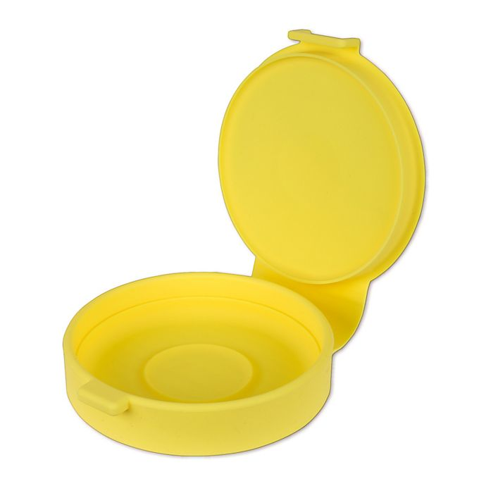 Alternate image 1 for Casabella® Silicone Microwave Egg Cooker in Yellow