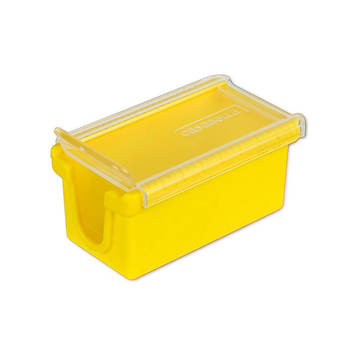 Alternate image 1 for Casabella® West Coast Butter Keep 'n Slice in Yellow