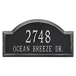 Whitehall Products Providence 2-Line Arch Address Plaque