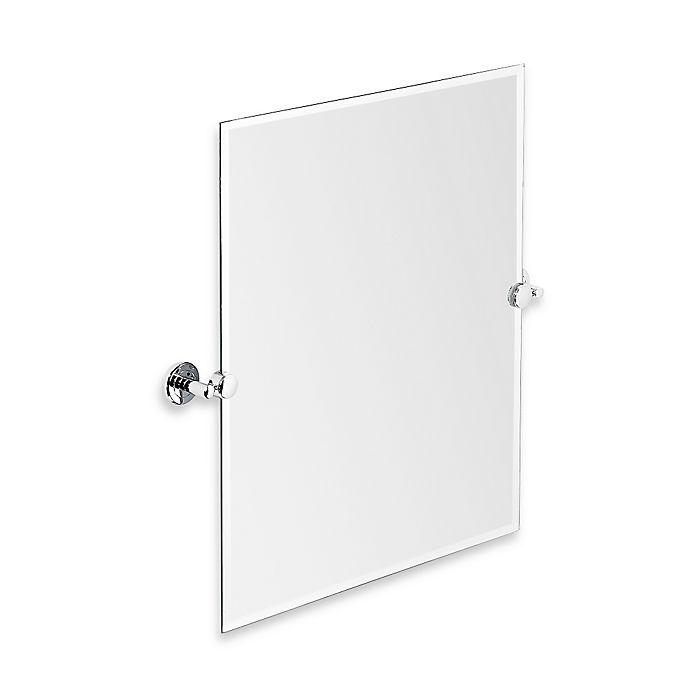 Alternate image 1 for Gatco® Latitude II 24-Inch x 24-Inch Rectangular Mirror in Chrome