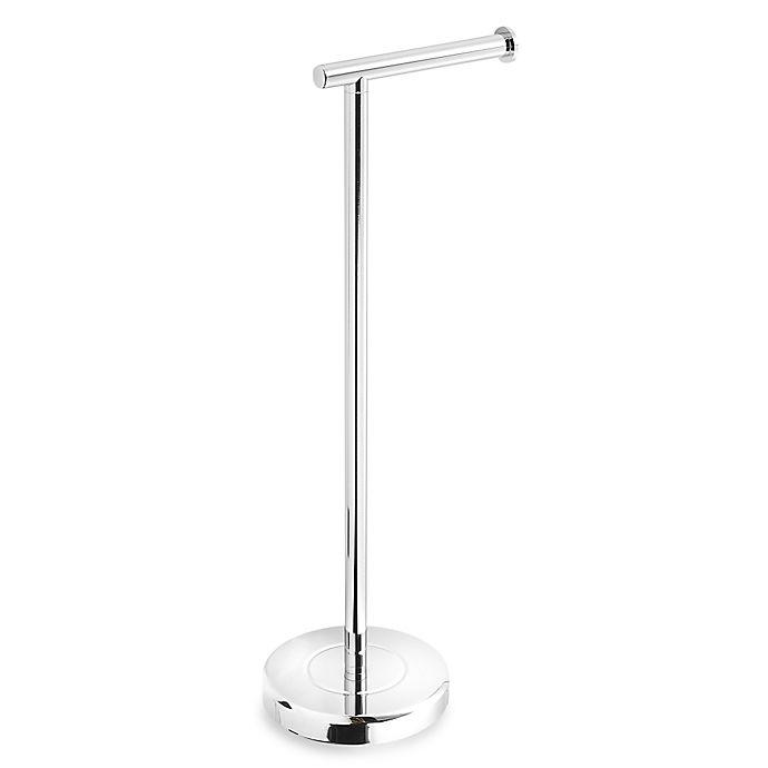 Alternate image 1 for Gatco® Latitude II Standing Toilet Tissue Dispenser in Chrome