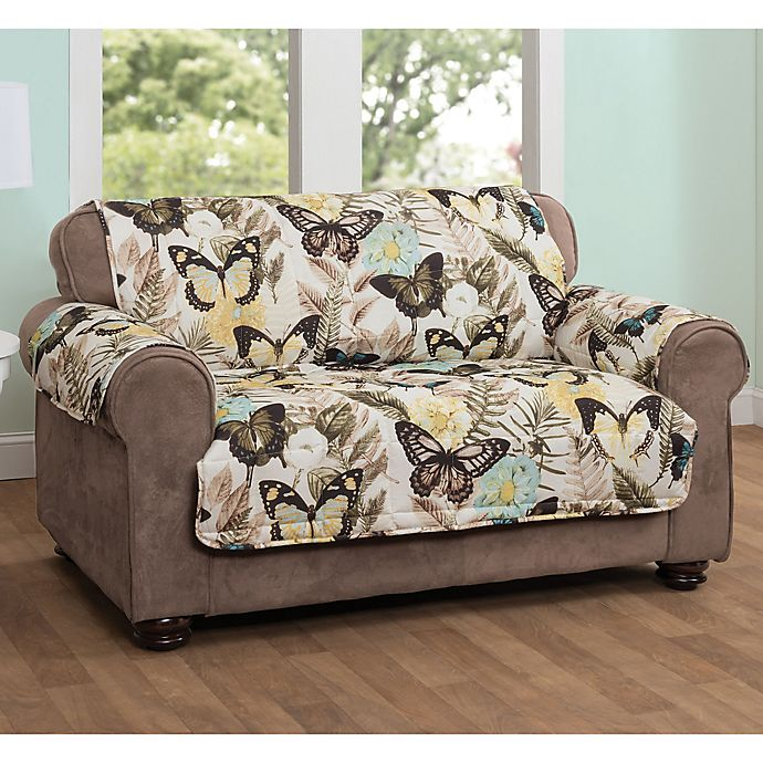 Innovative Textile Solutions Butterfly Sofa Protector In