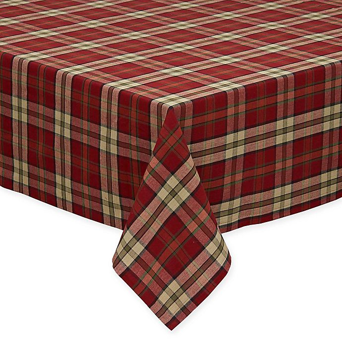 Alternate image 1 for Campfire Plaid Tablecloth