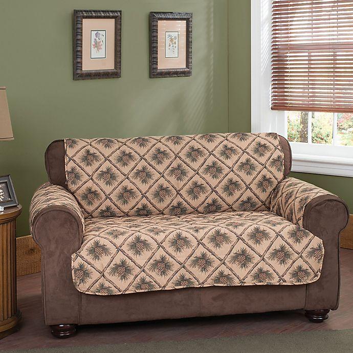 Alternate image 1 for Pine Cones Sofa Protector