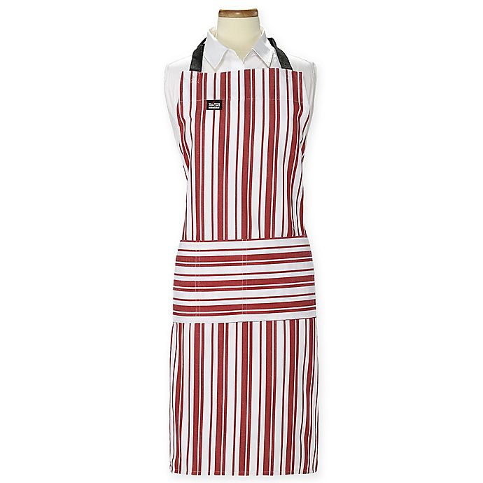 Alternate image 1 for All-Clad® Striped Cook's Apron