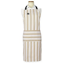 All-Clad® Striped Cook's Apron in Cappuccino