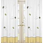 Sweet Jojo Designs Honey Bee Window Panel Pair