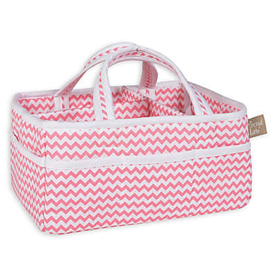 Trend Lab® Chevron Storage Caddy in Coral