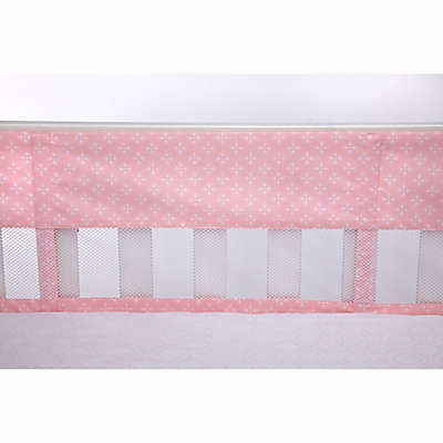 carter's® Heart of Gold 4-Piece Secure-Me Mesh Crib Liner