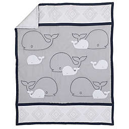 Nautica Kids® Mix & Match Sailboat Comforter in Navy/Grey
