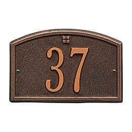Whitehall Products Cape Charles 1-Line Petite Wall Plaque