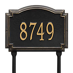 Whitehall Products Williamsburg 1-Line Standard Lawn Plaque
