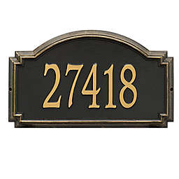 Whitehall Products Williamsburg 1-Line Standard Wall Plaque