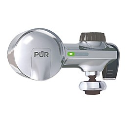 Pur® Horizontal Faucet Mount Filtration System with Swivel Spout  in Chrome