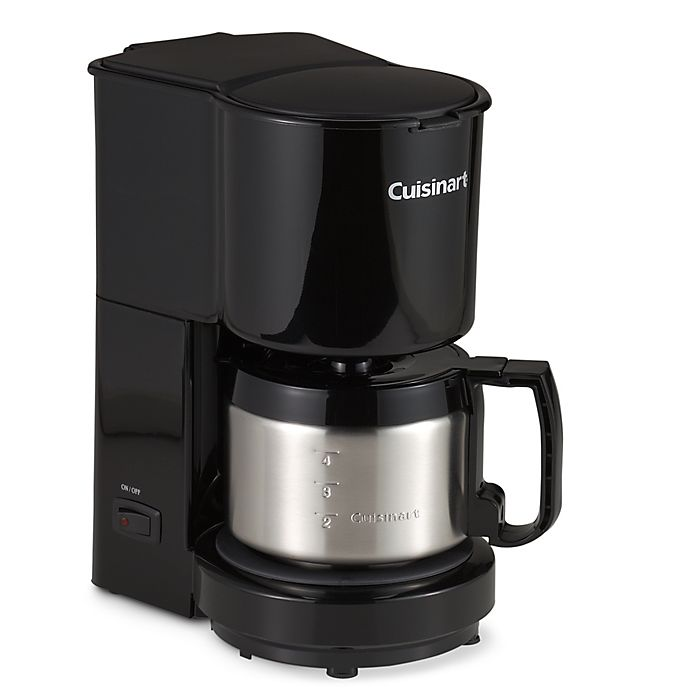 Alternate image 1 for Cuisinart® 4-Cup Coffee Maker with Stainless Steel Carafe