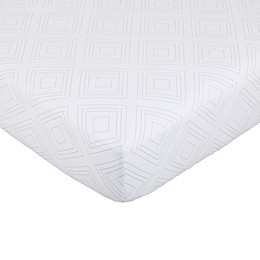 Nautica Kids® Mix & Match Fitted Crib Sheet in Grey