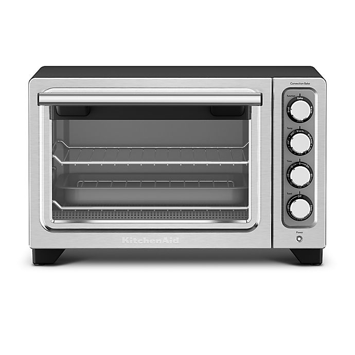 Alternate image 1 for KitchenAid® Compact Oven in Black