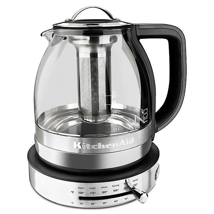 Kitchenaid 174 Glass Tea Kettle Bed Bath Amp Beyond