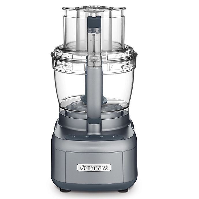 Alternate image 1 for Cuisinart® 13 Cup Food Processor in Gunmetal