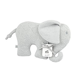 Just Born® Sparkle Elephant Sweater Knit Plush Toy