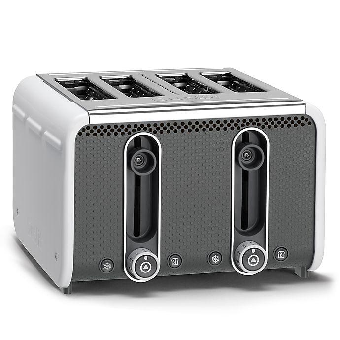 Alternate image 1 for Dualit® Stainless Steel 4-Slice Studio Toaster
