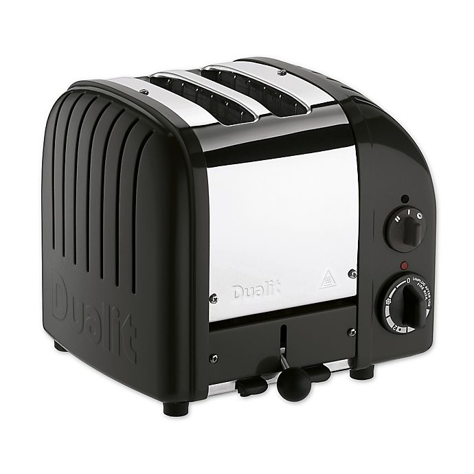 Alternate image 1 for Dualit® NewGen 2-Slice Toaster in Matte Black