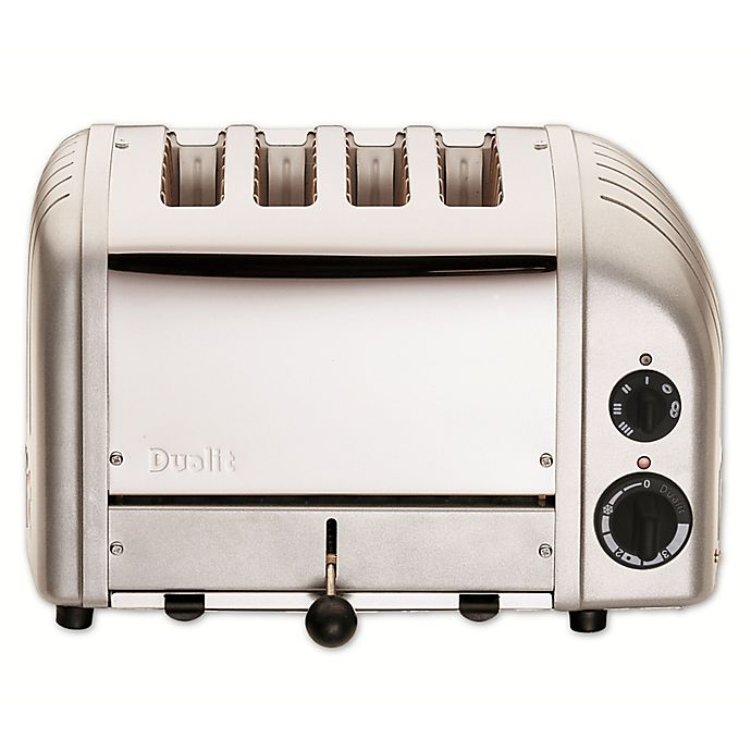 Alternate image 1 for Dualit® NewGen 4-Slice Toaster in Metallic Silver