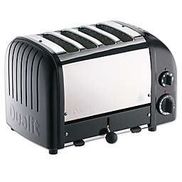 Dualit® NewGen 4-Slice Toaster in Matte Black