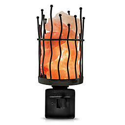 Himalayan Glow® Wavy Pillar Salt Crystal Nightlight