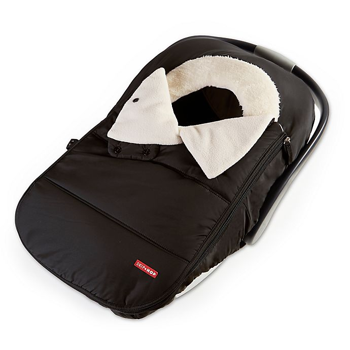 Alternate image 1 for SKIP*HOP® Stroll & Go Universal Car Seat Cover in Black