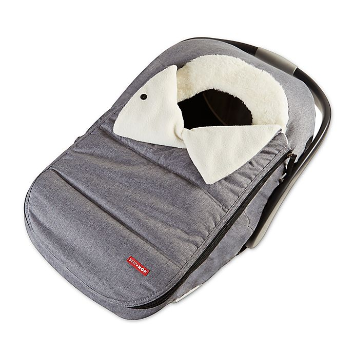Alternate image 1 for Skip*Hop® Stroll & Go Car Seat Cover in Heather Grey